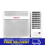 Condura 6X Plus (WCONH010EE) 1HP Window Type Air Conditioner