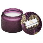 Voluspa Petite Colored Jar with Lid Santiago Huckleberry