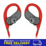 JBL Endurance DIVE Red Waterproof Wireless In-Ear Sport Headphones with MP3 Player