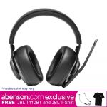 JBL Quantum 400 Black USB Over Ear Gaming Headphones