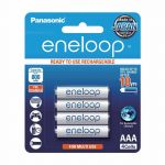Panasonic eneloop BK-4MCCE4BT2 4pcs Rechargeable AAA Batteries