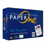 PaperOne All Purpose F4 (Legal) 80GSM 80GSM Home and Office Printing and Copy Paper
