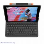 Logitech Slim Folio For iPad (7th generation) Keyboard case with Bluetooth