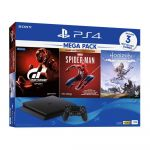 Sony PlayStation 4 Slim 1TB Mega Pack 3 PS4 Gaming Console