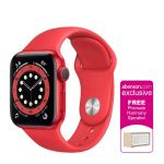 Apple Watch Series 6 (PRODUCT)RED 44mm PRODUCT(RED) Aluminum Case with PRODUCT(RED) Sport Band Smartwatch