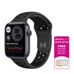 Apple Watch Nike Series 6 GPS 44mm Space Gray Aluminum Case with Anthracite/Black Nike Sport Band Smartwatch