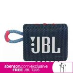 JBL GO 3 Bluetooth Speaker Blue/Pink Wireless Bluetooth Speaker