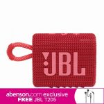 JBL Go 3 Red Wireless Bluetooth Speaker