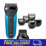 Braun Series 3 Shave&Style 310BT 3-in-1 Electric Shaver and Beard Trimmer