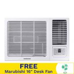 Samsung AW09AYHGAWKNTC 1.0HP Inverter Window Type Air Conditioner