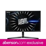Samsung Monitor 24-inch LC24RG50FQEXXP Curved LCD Gaming Monitor
