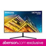 Samsung Monitor 32-inch LU32R590CWEXXP Curved LCD Gaming Monitor