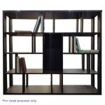 SB Furniture Light Display Cabinet Wenge