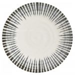 Habitat Pinako Porcelain Dinner Plate 25.5cm Off White
