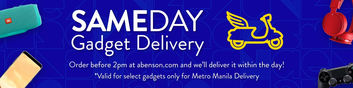 Abenson Same Day Gadget Delivery